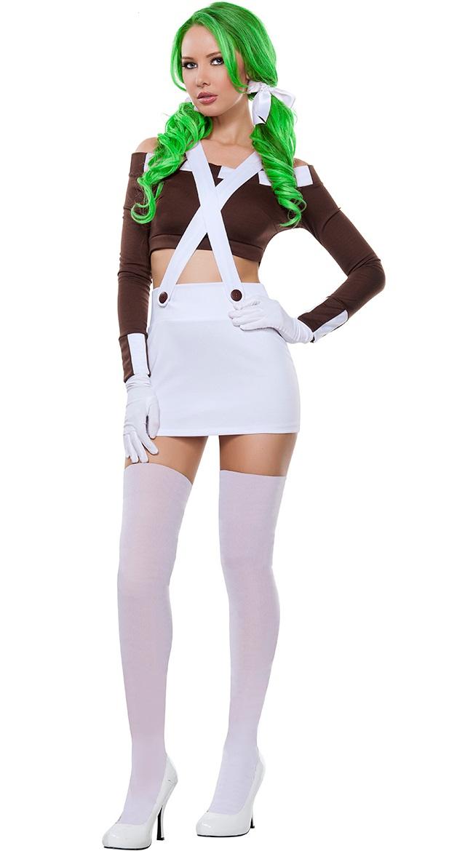 Sexy Funny Chocolate Girl Costume N11061