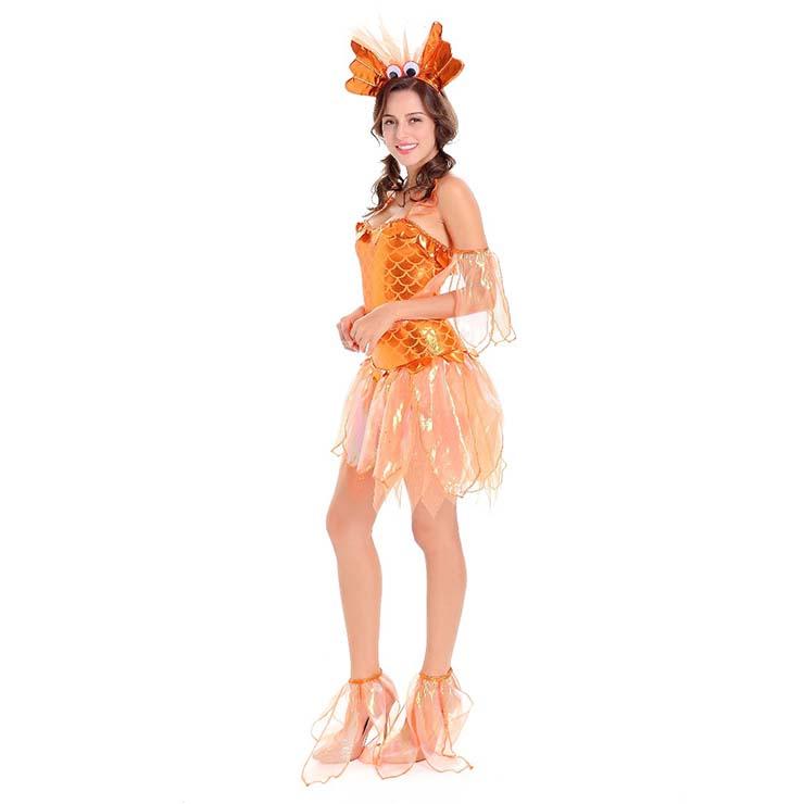Womens Sexy Goldfish Costume N14749