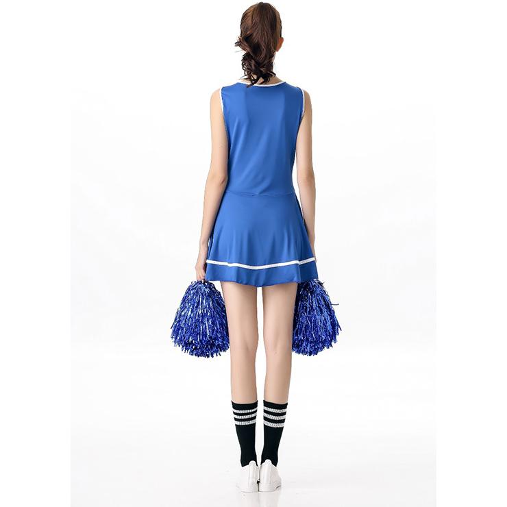 Sideline Spirit Costume, Sexy Cheerleader Costume, High School Cheerleader Costume, #N12604