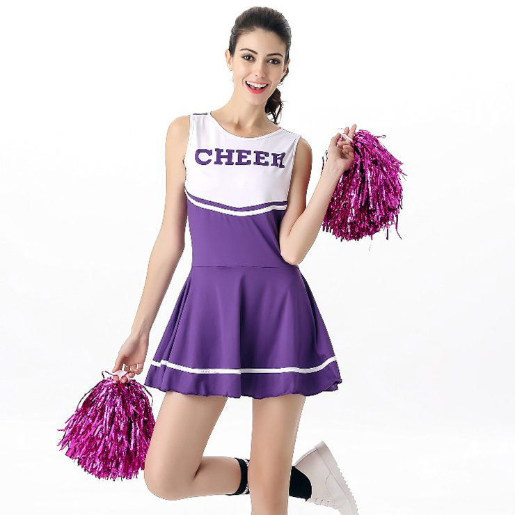 Sexy High School Cheerleader Uniform Costume N12606
