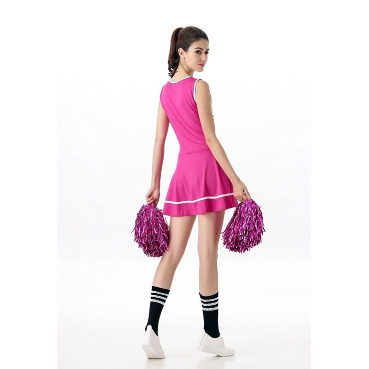 Sideline Spirit Costume, Sexy Cheerleader Costume, High School Cheerleader Costume, #N12607