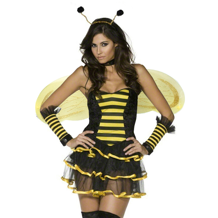 Girl in bee costume video