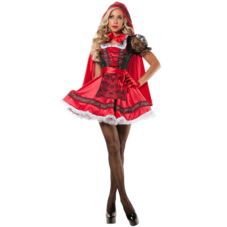 Aside! Adult little red riding hood costumes