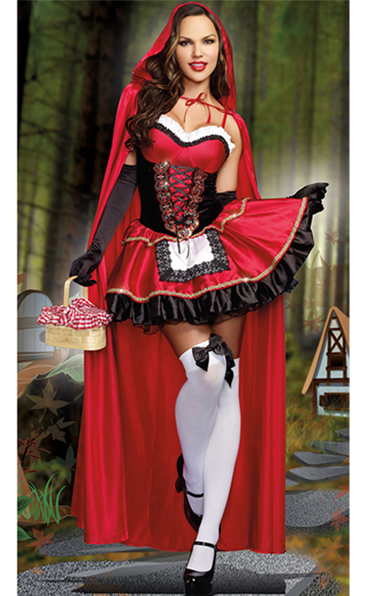 Little red riding hood adult agree