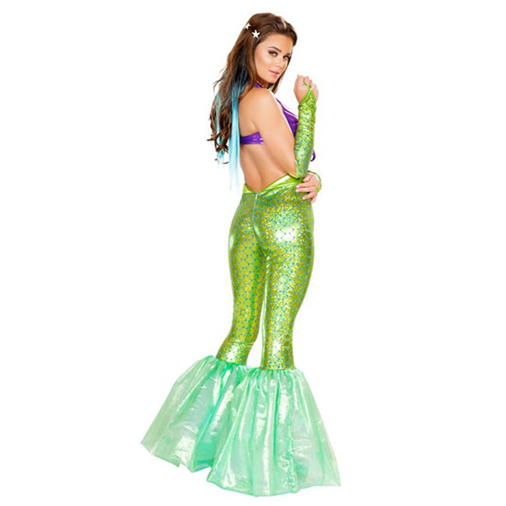 Under the Sea Costume, Beautiful Mermaid Costume, Sexy Mermaid Costume, Halloween Costume, #N14736