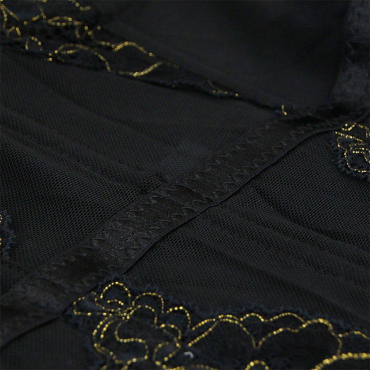 Sexy Floral Lace Bustier Corset, Fashion Body Shaper Corset, Spaghetti Strap Low-cut Bustier Corset, Women