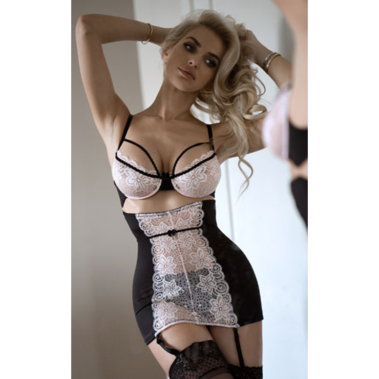 Sexy Lace Lingerie Outfit Night Wear N12677