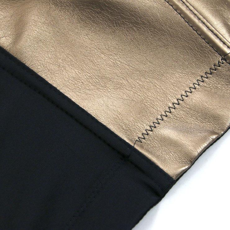 Gold Strap Bustier Bra, Crop Top Vegan Leather Bustier Bra, Faux Leather Bustier Bra, Sexy Gold Bustier, Spaghetti Straps Crop Top, Faux Suede Bustier, #N18605