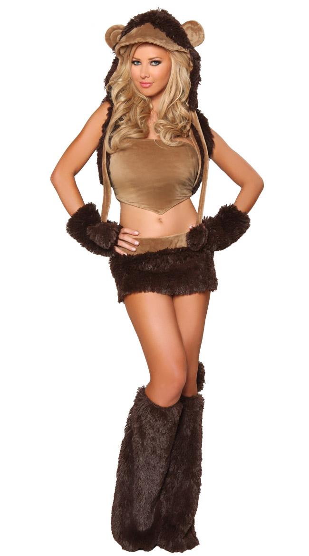 sc 1 st  MallTop1.com & Sexy Monkey Costume N5488
