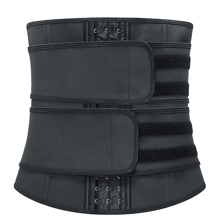 Sexy Black Neoprene Velcro Waist Training Cincher Slimmer Body Shaper Belt N20898