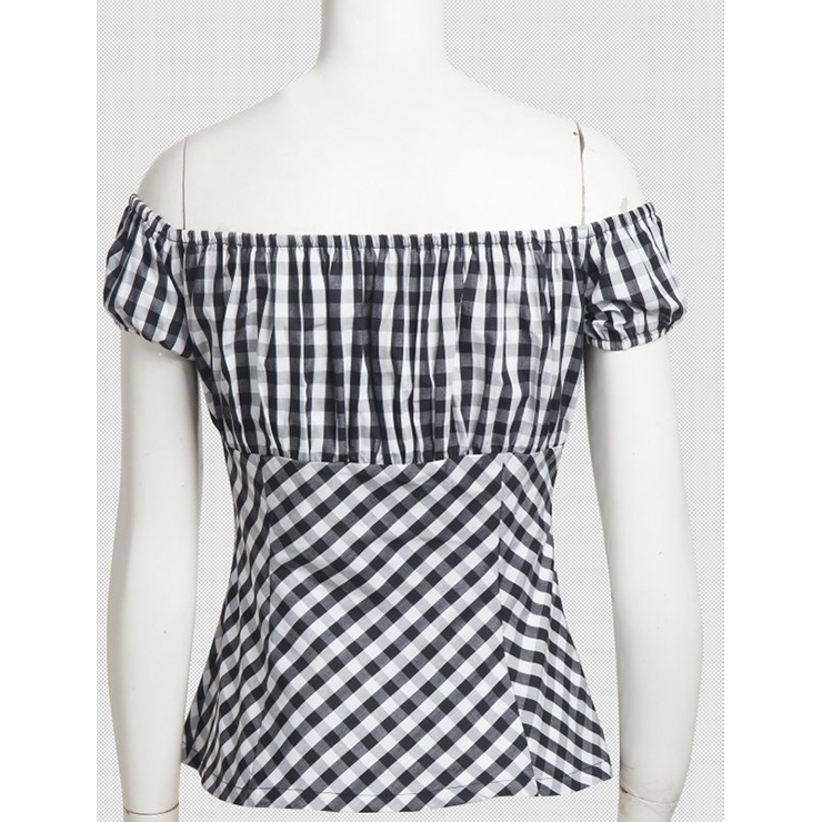 Sexy Off the Shoulder T-shirt, Women