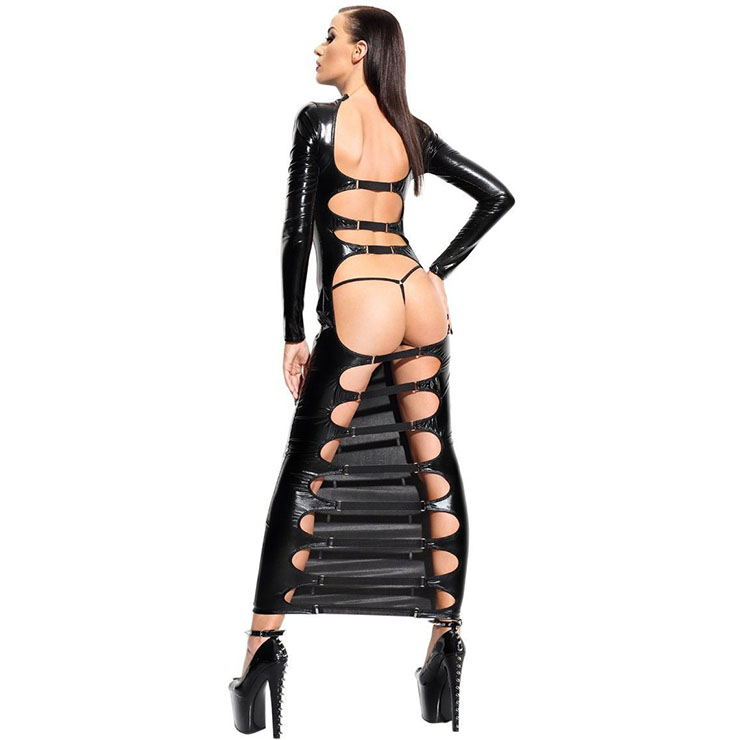 Sexy Bodycon dress, Cheap PVC dress, Women