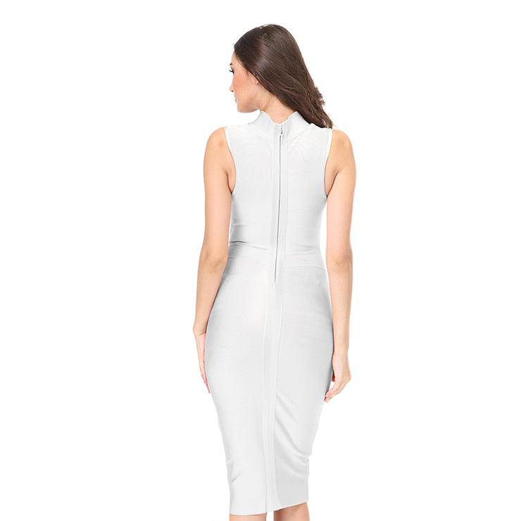 Office Lady Dresses, Sexy Dresses For Women, White Bodycon Dresses, Sexy Bodycon Party Dress, Bodycon Dress for Women, Midi Dress for Women, Wedding Guest Dresses, #N15142