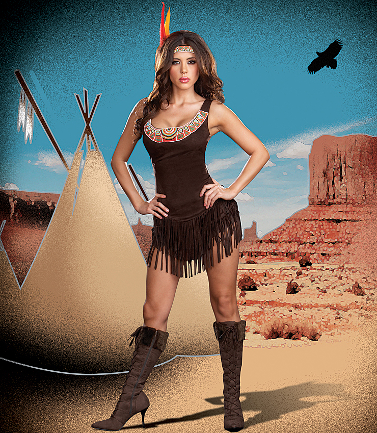 Pocahontas hot