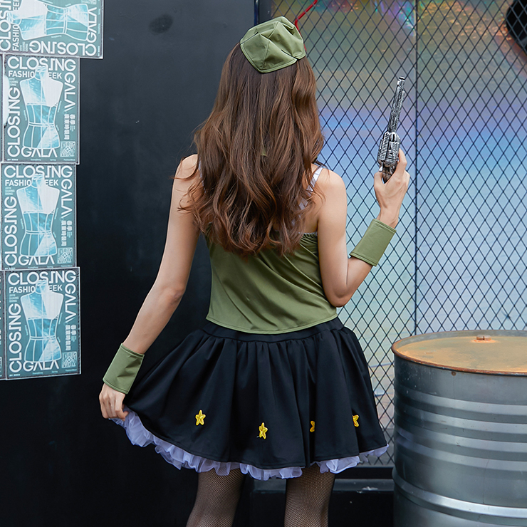 Adlut Army Costume, Women