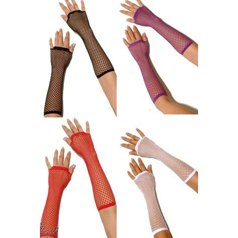 Sexy Purple Gloves, Women