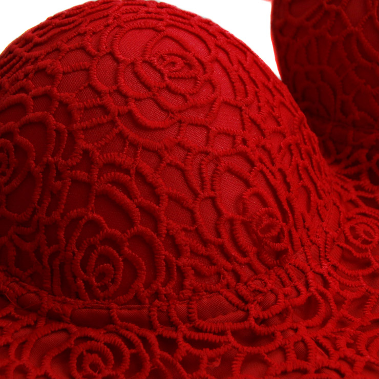 Red Strap Bustier Bra, Crop Top Vegan Lace Bustier Bra, Lace Bustier Bra, Sexy Red Bustier, Spaghetti Straps Crop Top, Lace Bustier, #N18817