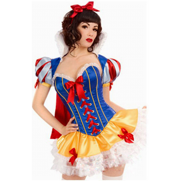 Adult Snow White Halloween Costume Snow White Costume Adult Sexy