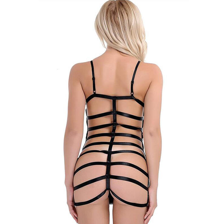 Sexy Bandage Dress, Clubwear PU Bodycon Dresses, Fashion Mini Dress, Cheap Lingerie Mini Dress, Sexy Mini Dress, Sexy Slip Dress, Bodycon Dress, Sexy Tube Dress, #N19056