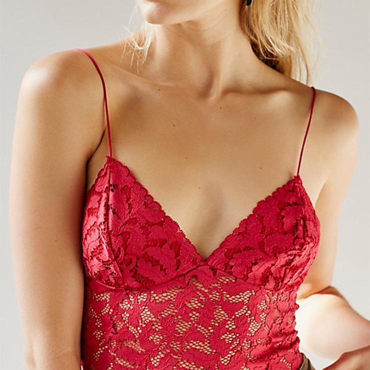 Sexy Lace Lingerie, Fashion Lace Bra Set, Strappy Lingerie, Thin Lace Bra Chemise, Floral Lace Bra Underwear,  Sexy Floral Lace Bra Chemise, #N18913