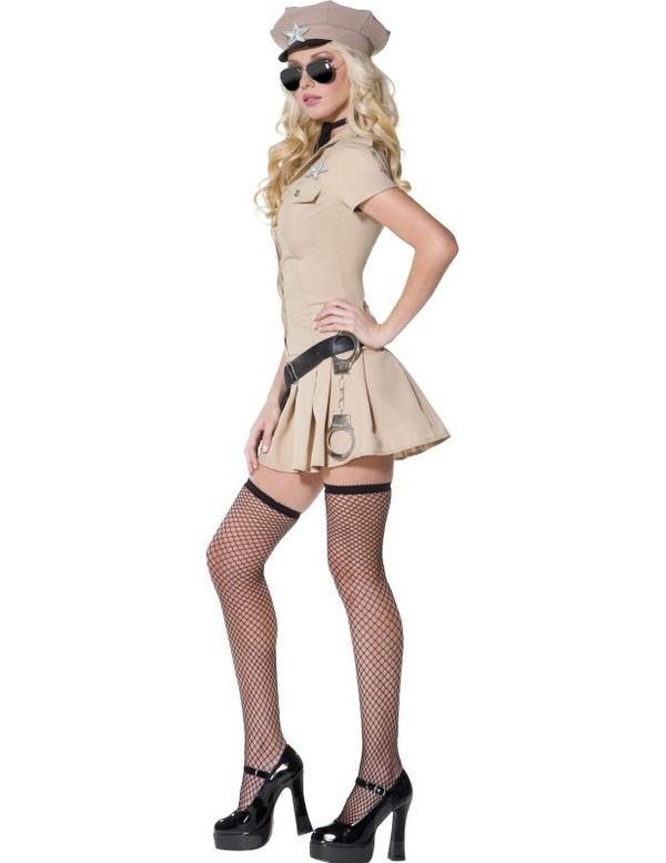 Sexy Sheriff Costume, Reno 911 Costume, Lady Cop Costume, #N4378