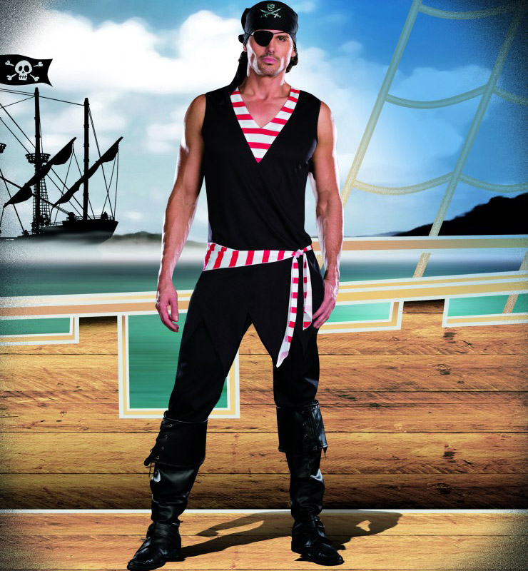 Sexy Ships Ahoy Costume for Men P4631