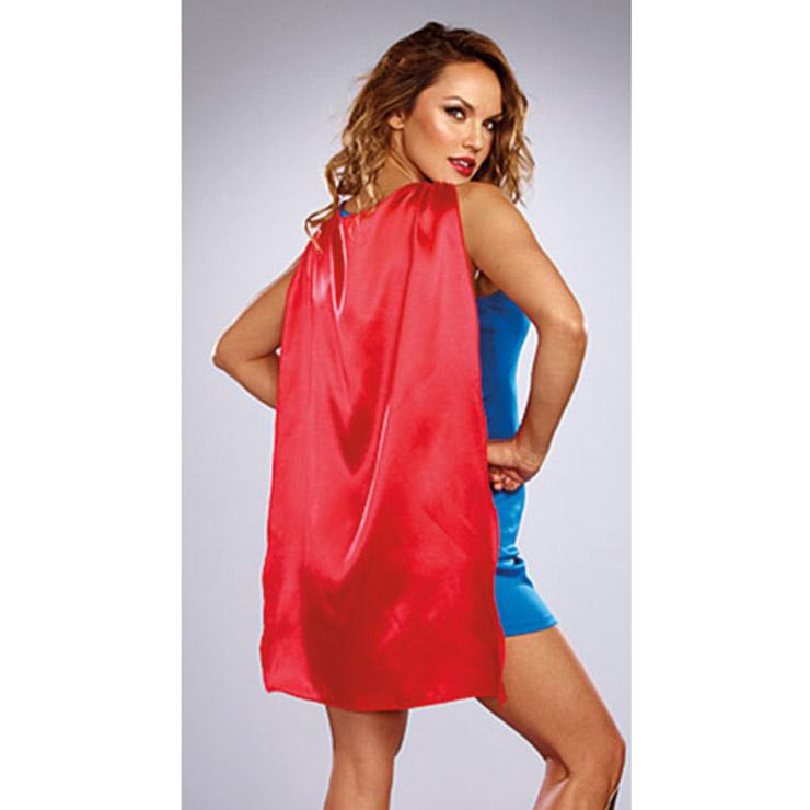 Cartoon Character Costume, Superhero Dress Costume, Sexy Halloween Costume, Women