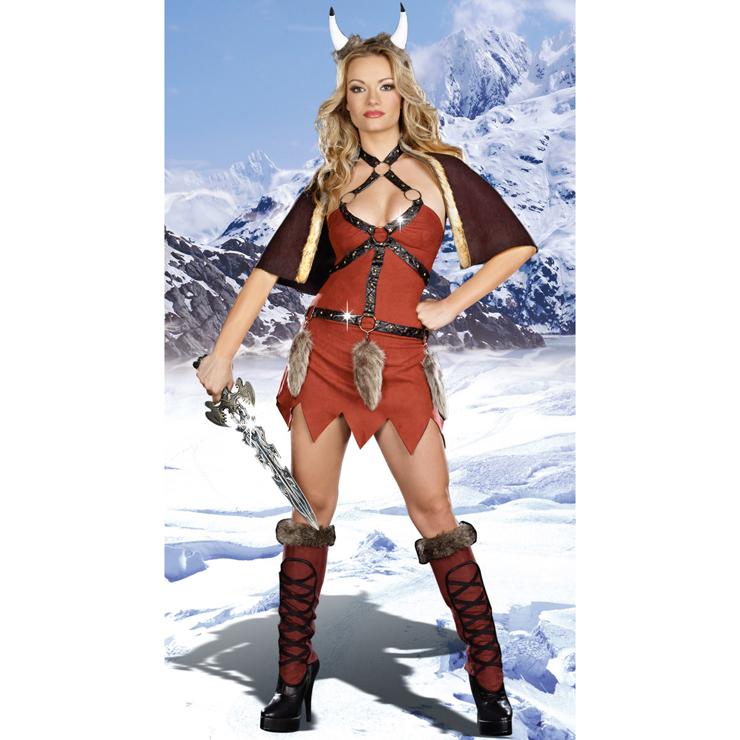 Sexy Viking Warrior Costume N5892
