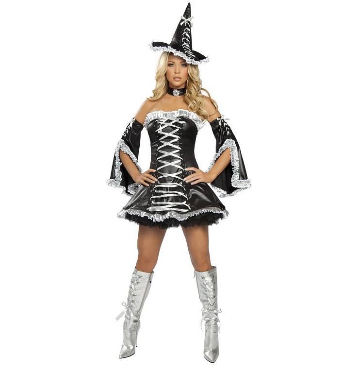 Sexy Halloween Outfits, Witch Costume, wholesale Sexy Halloween Costumes, #W2882