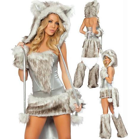 Wolf furry costume - photo#21