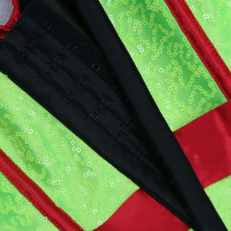 Halloween Costume Corset, Burlesque Corset for Women, Sexy Superhero Costume Cosplay, Superwoman Cospaly Corsets, Hero Corset, #N15011