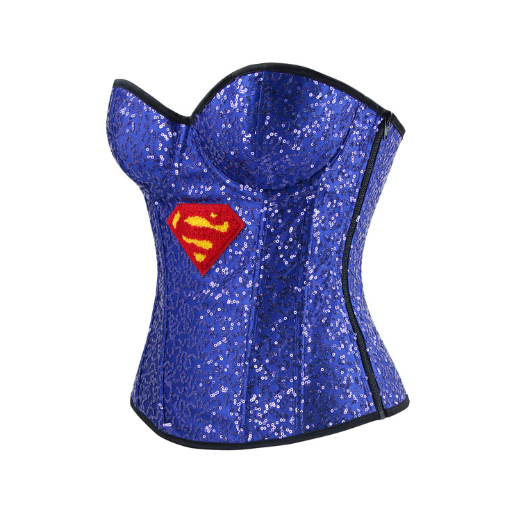 2803b535da Halloween costume corset burlesque corset for women sexy superhero costume  cosplay superwoman cospaly jpg 740x740 Superwoman