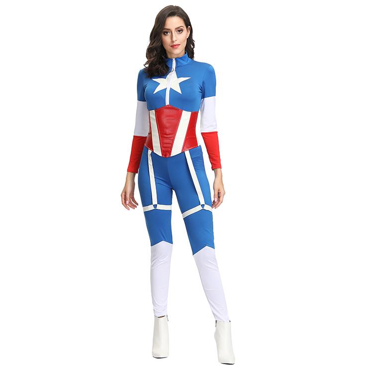 Cartoon Character Costume, Superhero Cosplay Costume, Sexy Halloween Costume, Women