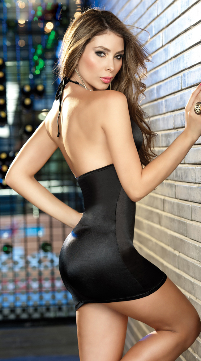 Black dress mini sexy