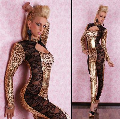 lace & Leopard jumpsuit N1652