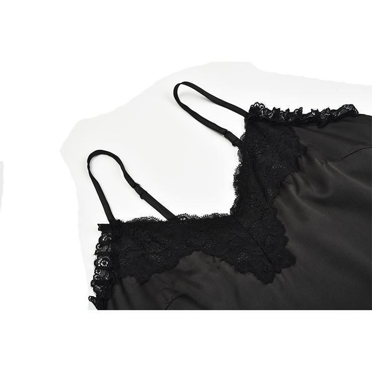 Sexy soft Satin Babydoll Lingerie, Sexy Chemise Nightwear, Deep V Neck Babydoll Lingerie, Valentine