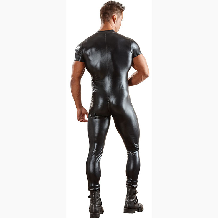 Black Spy Role Play Costume, Men
