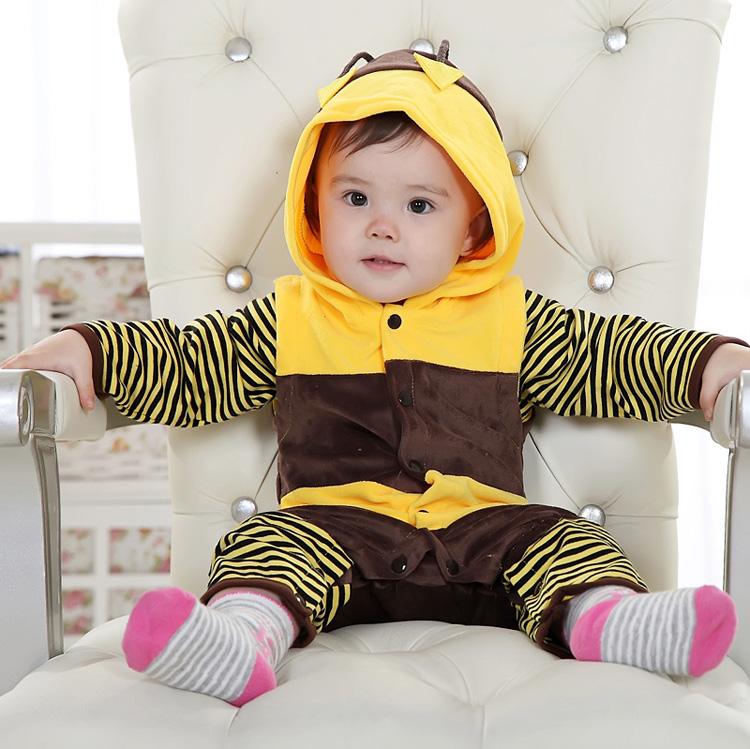 Single Bee Romper for Baby N6291