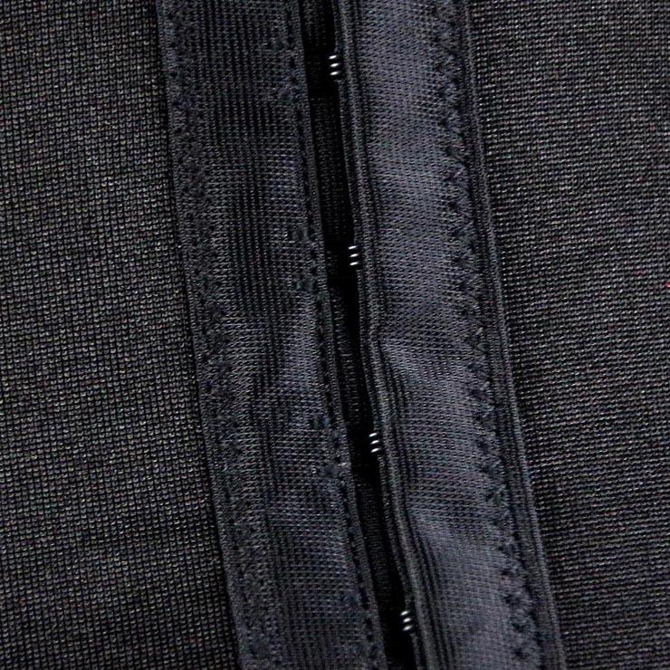 Skeleton Pattern Corset for Women, Black Halloween Costume Corset, Ribcage Shredded Corset, #N11200