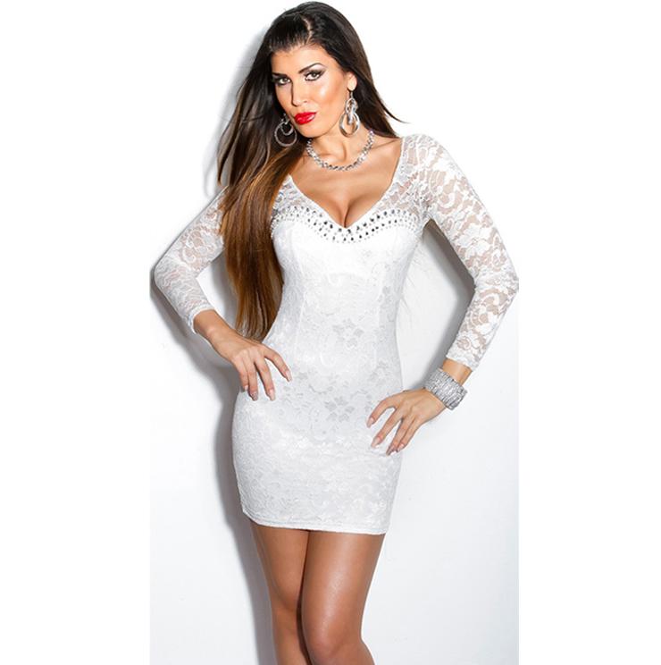 Mini dress white - White dress