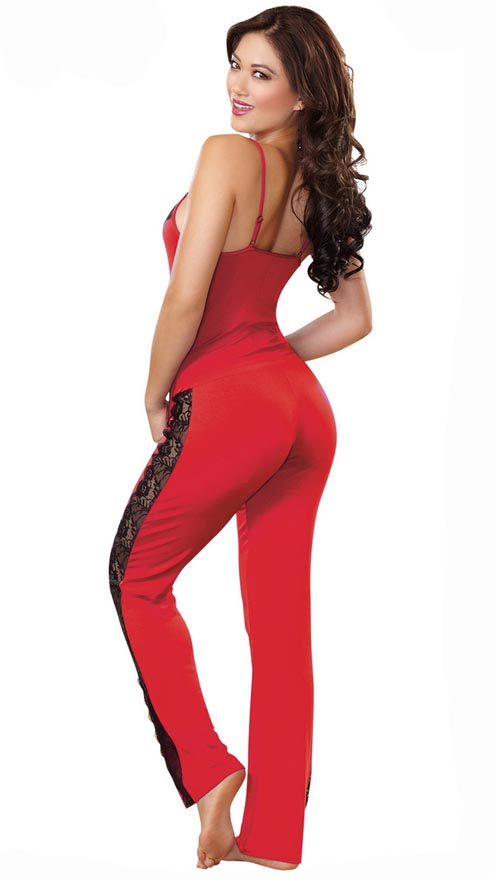 Women's hot n sexy lace black cami bra