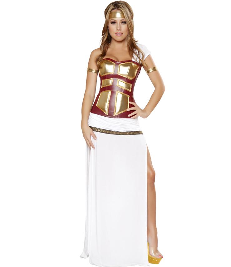 Warrior Queen Womens Adult Spartan Wig