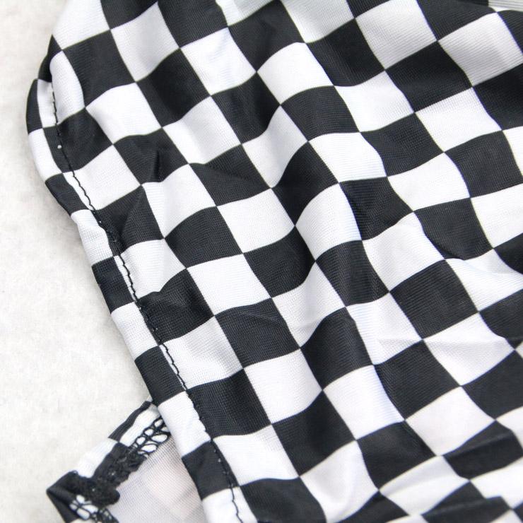 Sexy Short Sleeve Halter Bra Top and Mini Skirt Speed Racer Cosplay ... 0cbaf783a