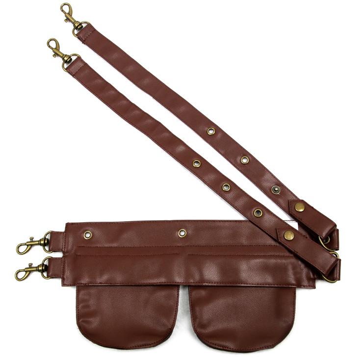 Hot Selling Corset Pouch Belt , Cheap Faux Leather Pouch, Punk Corset Pocket, Fashion Women