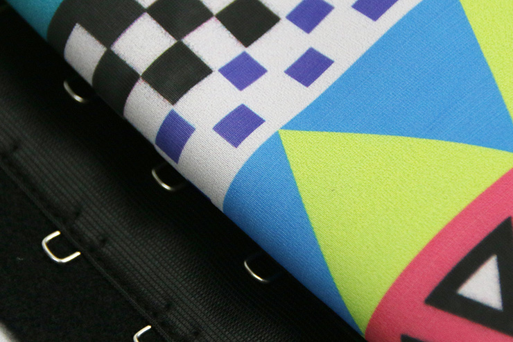 Colorful Steel Bone Underbust Corset, Latex Corset, Leopard Print Underbust Corset, Cheap Women