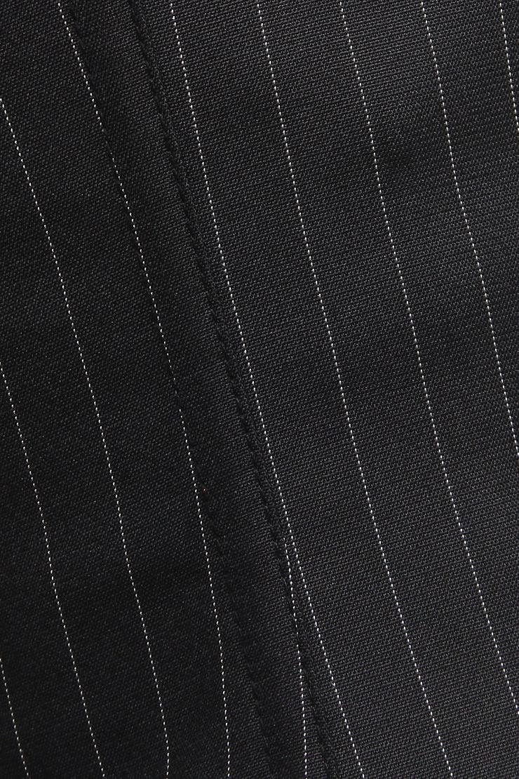 Pinstripe underbusk corset, underbusk corset, Steel Boning underbusk Corset, #M1216