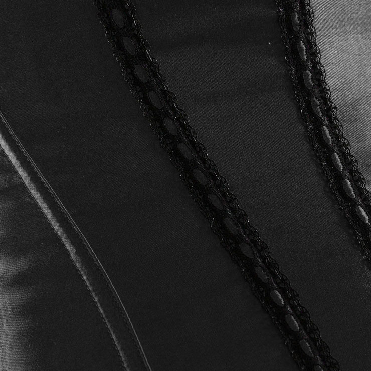Sexy Waist Cincher, Sexy Black Satin Corset, Strapless corset, black Corset, Sexy Corset, #N1396