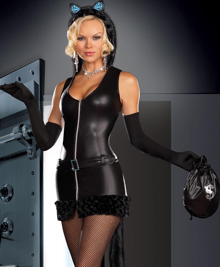 Cat Burglar Costume N4384