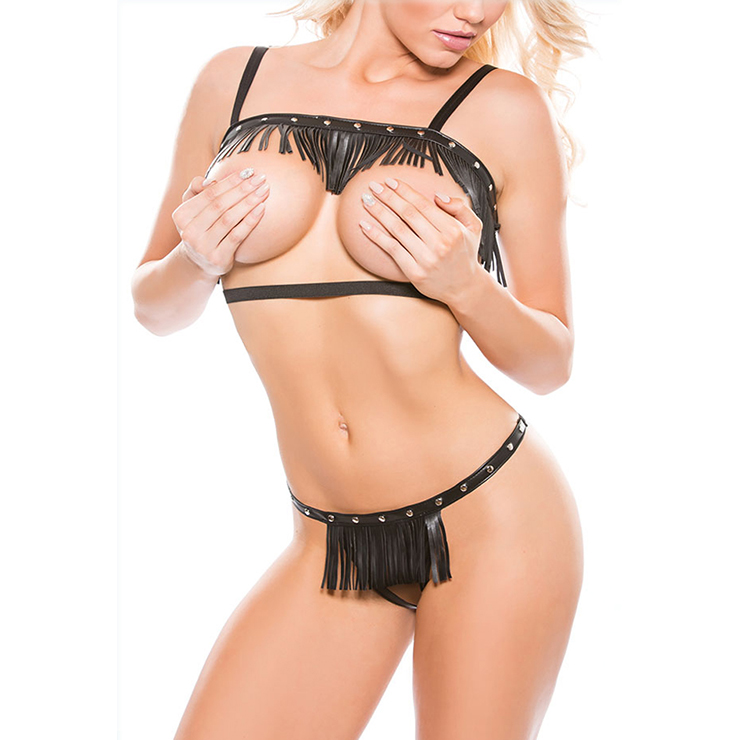 Sexy Black Lingerie Set, Women