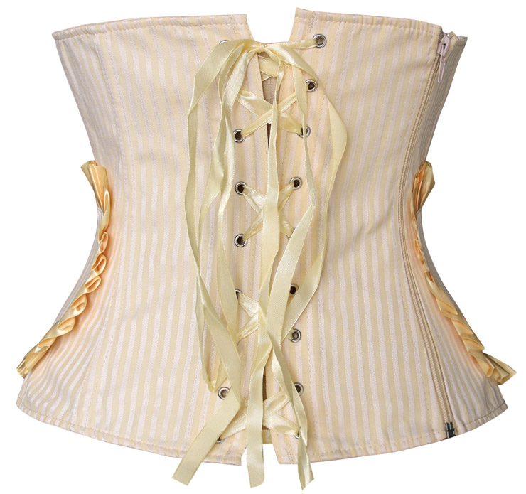 Sunny smile underbust corset, underbust corset, yellow underbust corset, #N4264